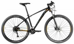 Bicicleta MTB Aro 29 Oggi Big Wheel 7.1 2020 Preto/Laranja Tam. 17