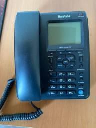 Telefone fixo Ibratele, Com Viva-voz e Identificador de Chamadas