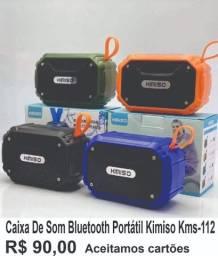 Fone bluetooth e caixa de som