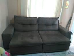 Sofa retrátil e reclinável