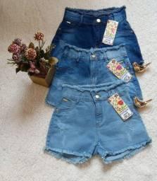 Shorts jeans femenino