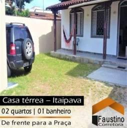 Pacote De CARNAVAL: Excelente casa térrea, de frente para a Praça de Itaipava!