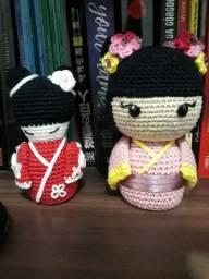 Amigurumis- bonecos de crochê