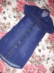 Vestido jeans  macacão jeans