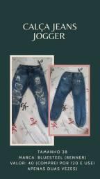 Calça jeans jogger n°38