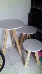 vendo trio de mesas palito
