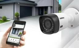 Câmeras de segurança na promoção confira