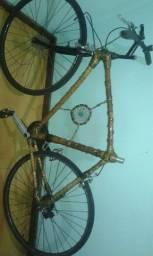 Bicicleta de bambú speed aro 27