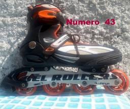 Roller B Xtreme Profissional 5000 abec 7 alumínio 43