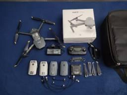 Mavic Pro Dji Drone 4 Baterias Carregador Case , Melhor que mavic air e phantom