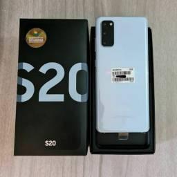 Super Promoção - Samsung S20 128GB Novo com 1 ano de garantia + Brindes !
