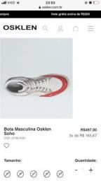Tênis Osklen de couro original