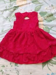 Vendo vestido infantil veste 6 a 9 meses