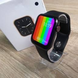 Relogio Smartwatch Inteligente Iwo 12 W26 Tela Infinita 44m Touch - Atende e faz Ligações