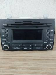Som automotivo MP3 original Kia Sportage