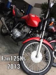 Fan125ks Extra- A mais nova está aqui! Emplacada 2020