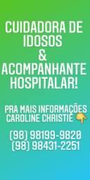 Acompanhante hospitalar!!