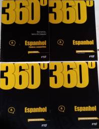 Livro ftd 360 de Espanhol Completo!