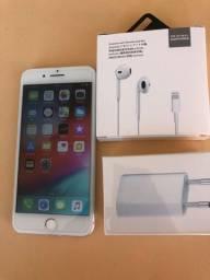 IPhone 7PLus 32GB Silver - excelente estado - completo