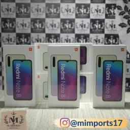Xiaomi Redmi Note 8 64g Branco Azul Preto