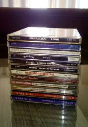 Lote de CDs Diversas Bandas (Pop, Rock, Metal)