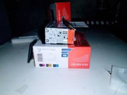 Som Automotivo Completo Rádio Carro Bluetooth Usb Mp3