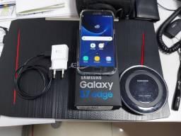 Samsung Galaxy S7 Edge com carregador sem fio