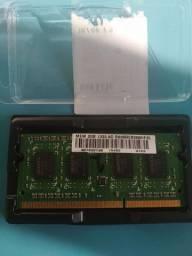Memória RAM 2gb para Notebook