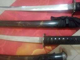 Conjunto Espadas Katana Samurai