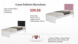 Cama solteiro ou bicama Barcelona * ENTREGA HOJE CHAME NO WHATSAPP *