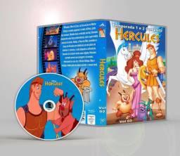 DVD Hércules Serie Disney Completo Dublado