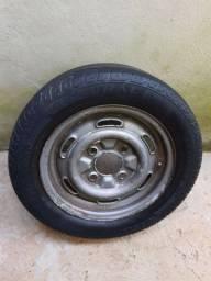 Roda aro 14, 4 furos