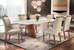 Vendo Conjunto de Mesa 6 Cadeiras
