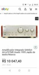 Sansui MR 707 Alpha made in Japan audiophile raro