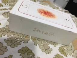 Caixa do iPhone SE Rose Gold