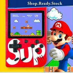 Console Emulador Retrô Tipo Game Boy com 400 Jogos/Super Mario