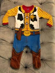 Body Macacão Woody Toystory Disney