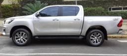 Toyota hilux 2.8 srv 4x4 cd 16v Diesel automático ano 2019,