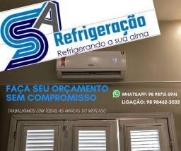 INSTALAÇÃO, LIMPEZA E MANUTENÇÃO DE AR-CONDICIONADO SPLIT E INDUSTRIAL