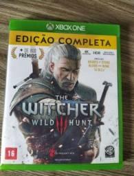 Vendo The Witcher 3 edição completa!