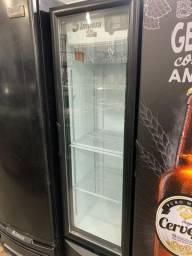 Cervejeira porta de vidro 230 litros (Guilherme