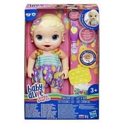 Boneca Baby Alive 30 Cm Lanchinhos Divertidos Nova Roupa Hasbro