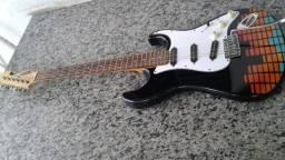 Guitarra Tagima Mg22 Strato Chilli Beans - Chilli Pop Equalizer