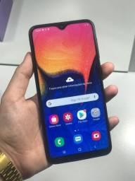 Samsung A10 32gb completo!!!