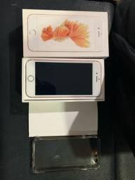 IPhone 6s Rose 64GB Impecável Novo