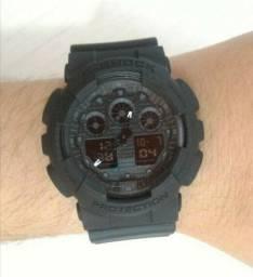 G-Shock GA-100 Preto