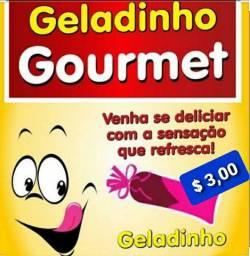 Geladinho gourmet  R$ 2.50