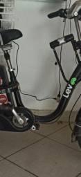 Vendo bike elétrica com bateria okm garantia e nota