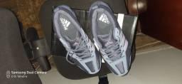 Tênis Adidas Aresta S Feminino - Cinza e Lilás número 38<br><br>