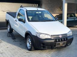 Fiat Strada 2008 c/ Ar Cond + GNV